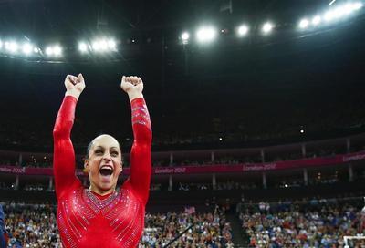 U.S. gymnasts strike gold