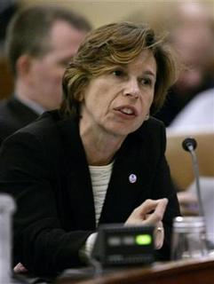 American Federation of Teachers President Randi Weingarten testifies during the U.S. House Ways and Means Committee hearing on economic recovery and job creation options on Capitol Hill in Washington October 29, 2008. REUTERS/Mitch Dumke