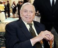 "Writer Gore Vidal is pictured at the ""2005 Literary Awards"" hosted by PEN USA in Los Angeles in this November 9, 2005 file photo. REUTERS/Mario Anzuoni/Files"
