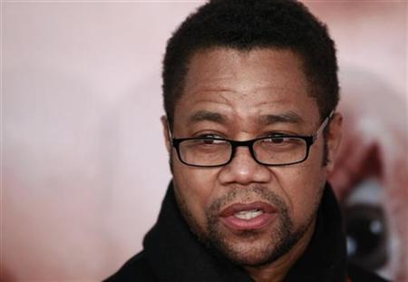Actor Cuba Gooding Jr. arrives for the premiere of the film ''The Five-Year Engagement'' to begin the 2012 Tribeca Film Festival in New York, April 18, 2012. REUTERS/Lucas Jackson
