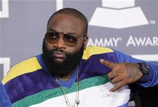 Hip hop artist Rick Ross arrives at the 54th annual Grammy Awards in Los Angeles, California February 12, 2012. REUTERS/Danny Moloshok