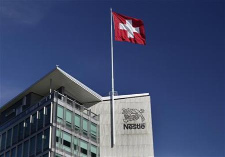The headquarters of food giant Nestle is pictured in Vevey August 8, 2012. The company is due to announce their half-year results on August 9. REUTERS/Denis Balibouse