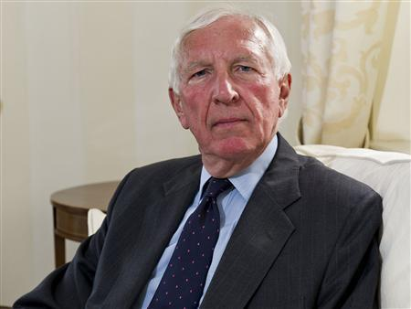 New Barclays chairman Sir David Walker is pictured in an undated handout photo. REUTERS/Barclays/handout