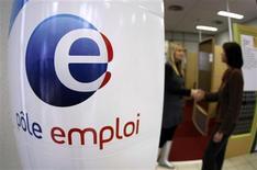 <p>Selon Pôle emploi, le nombre de salariés intérimaires a diminué de 1,4% en juin pour s'établir à 605.200, son recul atteignant 9,0% sur un an. /Photo d'archives/REUTERS/Eric Gaillard</p>