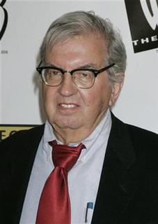 Larry McMurtry, one of the screenwriters of the film 'Brokeback Mountain', poses at the Critics' Choice Awards in Santa Monica, California January 9, 2006. REUTERS/Fred Prouser