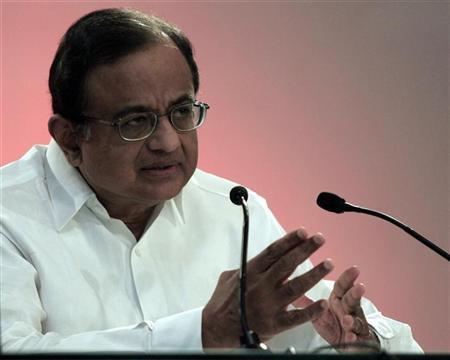 Palaniappan Chidambaram speaks during a seminar in New Delhi October 12, 2007. REUTERS/Mathur/Files