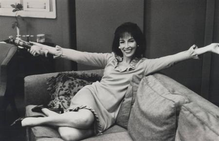 Helen Gurley Brown on her first day as editor-in-chief of Cosmopolitan in 1965. REUTERS/Hearst Corporation
