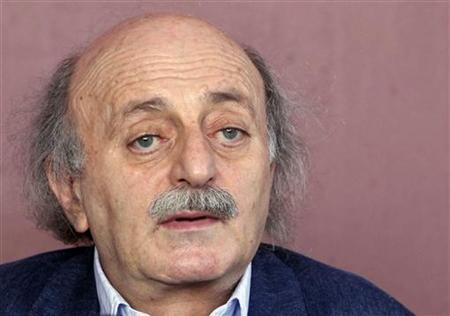 Lebanon's Druze leader Walid Jumblatt speaks during a news conference at his residence in Beirut July 1, 2011. REUTERS/Mohamed Azakir/Files