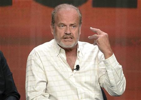 Cast member and executive producer Kelsey Grammer participates in the Starz panel for ''Boss'' during the cable television sessions at the Television Critics Association summer press tour in Beverly Hills, California August 2, 2012. REUTERS/Phil McCarten