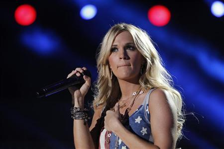 Carrie Underwood performs during the Country Music Association (CMA) Music Festival in Nashville, Tennessee June 8, 2012. REUTERS/Harrison McClary