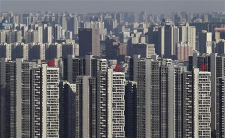 Residential buildings are seen in Wuhan, Hubei province July 24, 2012. REUTERS/Stringer