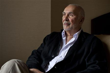 Actor Frank Langella poses for a portrait in New York, July 30, 2012. REUTERS/Andrew Burton