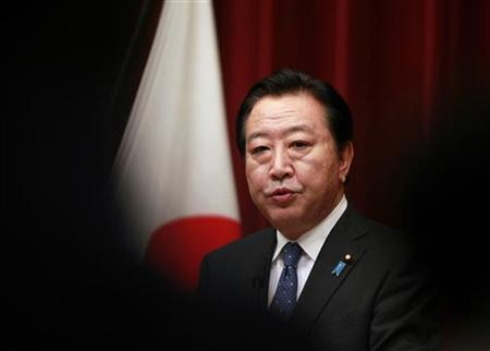 Japan's Prime Minister Yoshihiko Noda speaks during a news conference at his official residence in Tokyo August 10, 2012. REUTERS/Yuriko Nakao (