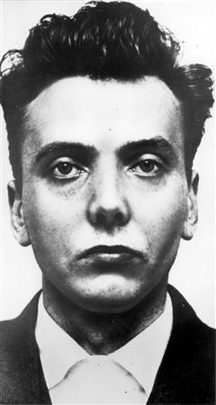 Convicted 'Moors murderer' Ian Brady, who was jailed for life in 1966, is seen in an undate police photo. REUTERS/Greater Manchester Police/handout/files