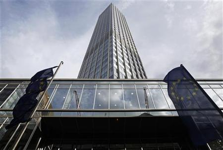 The headquarters of the European Central Bank (ECB) is pictured in Frankfurt July 30, 2012. REUTERS/Alex Domanski