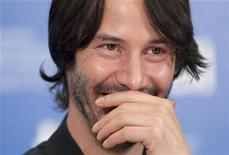 "Actor Keanu Reeves attends a news conference to promote the film ""Henry's Crime"" during the 35th Toronto International Film Festival, September 14, 2010. REUTERS/Fred Thornhill"