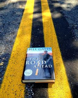Bill Gates' book ''The Road Ahead'' is seen in this undated photo. REUTERS/John C. Abell
