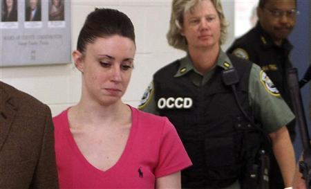 Casey Anthony leaves the Orange County Jail in Orlando, Florida July 17, 2011. REUTERS/Red Huber/Pool