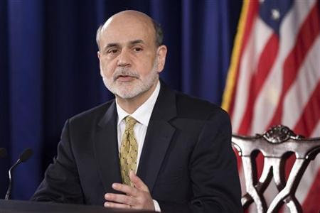 U.S. Federal Reserve Chairman Ben Bernanke answers questions during a news conference at the Federal Reserve in Washington June 20, 2012. REUTERS/Jonathan Ernst