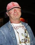 O cineasta britânico Tony Scott durante entrevista coletiva em Nova Orleans, nos Estados Unidos, há seis anos. 02/02/2006 REUTERS/Lee Celano