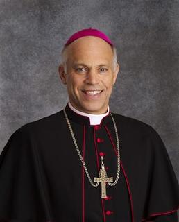 Bishop Salvatore Cordileone, bishop of Oakland since 2009, is shown in this publicity photo released to Reuters August 27, 2012. .REUTERS/Archdiocese of Oakland/Handout