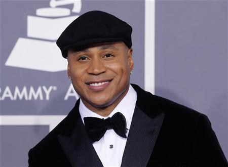 Rapper LL Cool J arrives at the 54th annual Grammy Awards in Los Angeles, California, February 12, 2012. REUTERS/Danny Moloshok