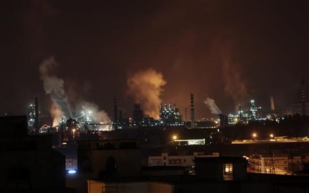 ILVA steel plants are seen in Taranto late August 3, 2012. REUTERS/Yara Nardi