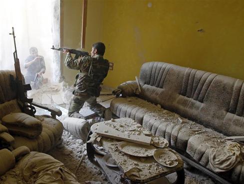 Syria's indoor war