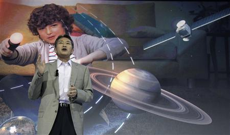 President and CEO of Sony Corporation Kazuo Hirai addresses a news conference before the start of the IFA consumer electronics fair in Berlin, August 29, 2012. REUTERS/Tobias Schwarz