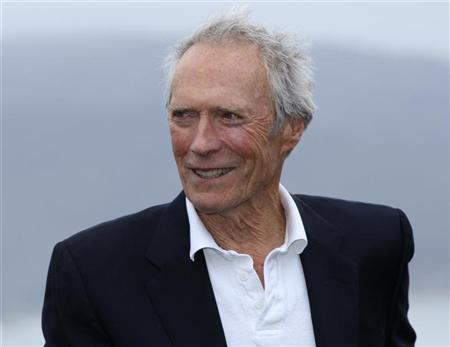 Actor Clint Eastwood attends the trophy ceremony for the Pebble Beach National Pro-Am golf tournament in Pebble Beach, California, February 12, 2012. REUTERS/Robert Galbraith