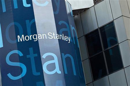 Morgan Stanley's New York headquarters are seen at the corner of 48th Street and Broadway in New York in this May 22, 2012 file photo. REUTERS/Andrew Burton/Files