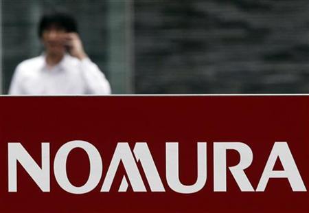 9月4日、野村証券は、代表的な国内債券ベンチマーク「NOMURA─BPI総合」の9月組入銘柄からシャープの無担保社債を除外した。写真は6月、都内で撮影(2012年 ロイター/Yuriko Nakao)