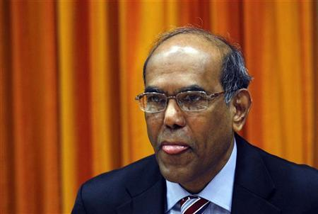 Reserve Bank of India (RBI) Governor Duvvuri Subbarao attends an annual monetary policy review meeting in Mumbai May 3, 2011. REUTERS/Danish Siddiqui/Files