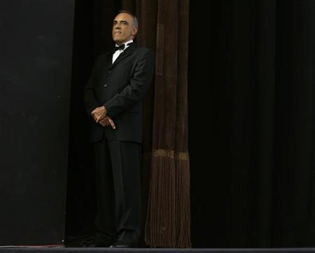 Venice Film Festival Director Alberto Barbera stands on stage during an award ceremony at the 69th Venice Film Festival August 31, 2012. REUTERS/Tony Gentile