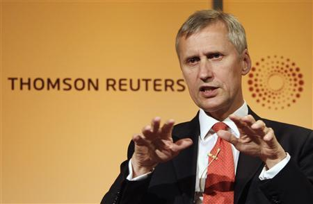Martin Wheatley, the FSA's managing director, speaks at the Thomson Reuters building in Canary Wharf, London, September 5, 2012. REUTERS/Simon Newman