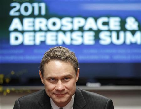 Northrop Grumman Corp CEO Wes Bush takes part in the Reuters Aerospace and Defense Summit in Washington September 7, 2011. REUTERS/Kevin Lamarque