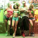 "A promotional image fro the film ""Spring Breakers"". REUTERS/TIFF"