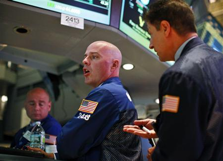 Traders work on the floor of the New York Stock Exchange, September 6, 2012. REUTERS/Brendan McDermid