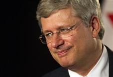 Canadian Prime Minister Stephen Harper is pictured during an interview during a Canada-Asia Dialogue at Canada Place in Vancouver, British Columbia September 6, 2012. REUTERS/Ben Nelms