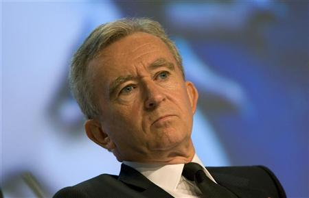 Bernard Arnault attends the company's annual shareholders meeting in Paris May 15, 2008. REUTERS/Charles Platiau/Files