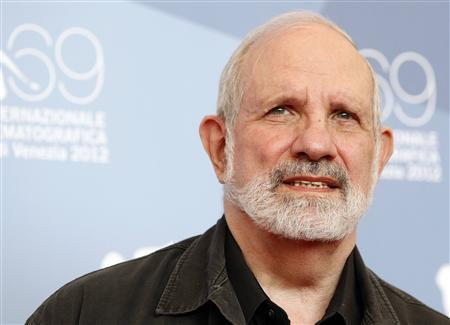 Director Brian De Palma poses during the photocall of the movie ''Passion'' at the 69th Venice Film Festival September 7, 2012. REUTERS/Tony Gentile