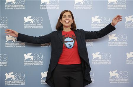 Director Francesca Comencini poses during the photocall of the movie ''Un giorno speciale'' at the 69th Venice Film Festival in Venice September 7, 2012. REUTERS/Tony Gentile