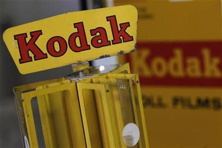 A Kodak film dispenser is seen in a photo store in London January 19, 2012. REUTERS/Stefan Wermuth