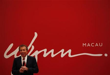 U.S. casino magnate Steve Wynn, head of Wynn Resorts Ltd and Wynn Macau Ltd, speaks during a news conference in Macau June 5, 2012. REUTERS/Bobby Yip/Files