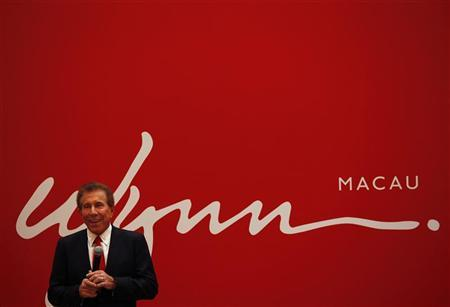 U.S. casino magnate Steve Wynn, head of Wynn Resorts Ltd and Wynn Macau Ltd, speaks during a news conference in Macau June 5, 2012. REUTERS/Bobby Yip