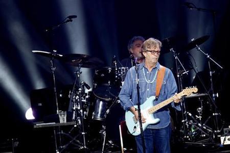 Singer Eric Clapton performs at the Norwegian Wood music festival in Oslo June 9, 2011. REUTERS/Kyrre Lien/Scanpix