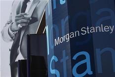 Штаб-квартира Morgan Stanley в Нью-Йорке, 1 июня 2012 года. Фонд, созданный американским банком Morgan Stanley, договаривается купить московский торговый центр Метрополис у Capital Partners за $1,1-1,2 миллиарда, что может стать крупнейшей сделкой в этом году, рассказали Рейтер два источника. REUTERS/Eric Thayer