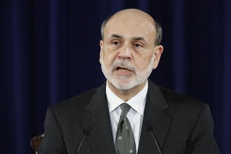 U.S. Federal Reserve Chairman Ben Bernanke delivers remarks about a significant shift in the direction of U.S. monetary policy at the Federal Reserve in Washington September 13, 2012. REUTERS/Jonathan Ernst