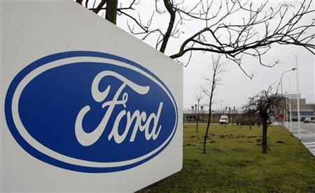An exterior view of the Ford factory in Genk January 18, 2008. REUTERS/Sebastien Pirlet