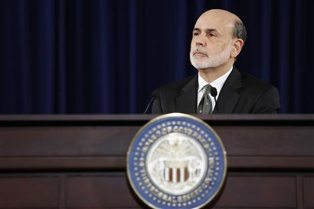 U.S. Federal Reserve Chairman Ben Bernanke listens to a question as he addresses U.S. monetary policy with reporters at the Federal Reserve in Washington September 13, 2012. REUTERS/Jonathan Ernst
